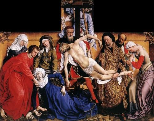 Rogier Van der Weyden. La Déposition. 1435