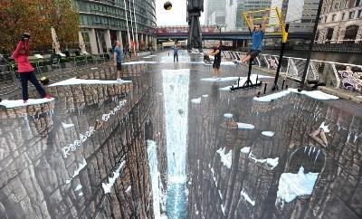 dessin 3D de rue