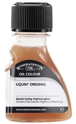 liquin : médium pour peinture à l'huile