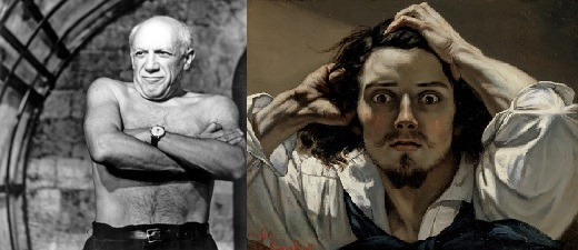 You are currently viewing Courbet le triste, Picasso le vilain !