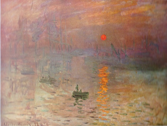 Impression Soleil Levant Monet