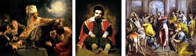 Rembrandt-Velasquez- Le greco