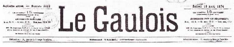 Journal Le Gaulois