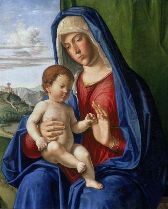 Vierge à l'enfant. Cima