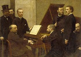 Fantin-Latour, Autour du piano