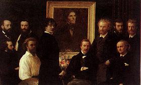 Fantin-latour, Hommage à Delacroix