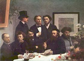 Fantin-Latour, une coin de table