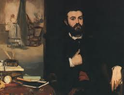 Zacharie Astruc peint par Manet