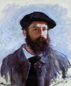 Monet, autoportrait