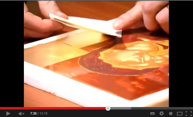 La Pose De Feuilles DOr  Technique De Peinture