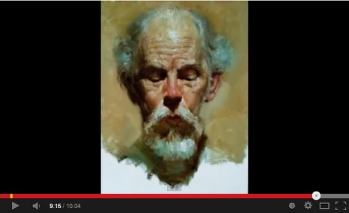 You are currently viewing Réaliser un portrait alla prima
