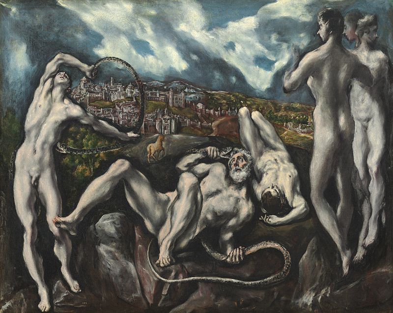 La mort du Laocoon par le Greco