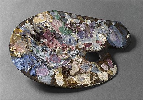 La palette de Gustave Moreau