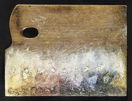 La palette de Georges Seurat