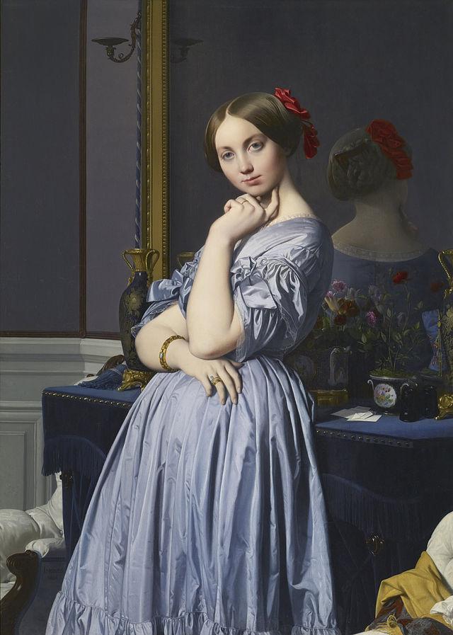 Ingres - Louise de Boglie, comtesse d'Haussonville - 1845