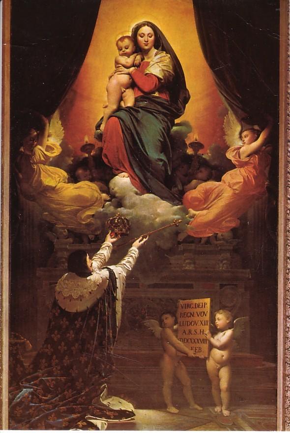 Ingres - Voeu de Louis XIII - 1824