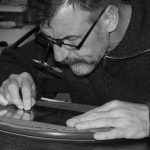 Atelier d'artiste  : Serge Marzin, graveur-buriniste