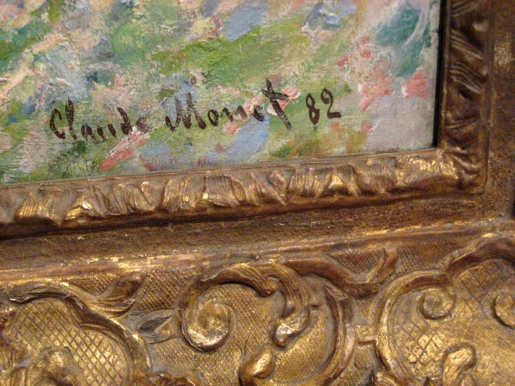Prix D Un Tableau D Artiste la signature - technique de peinture